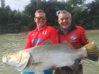 Barramundi Fishing Darwin Barra Boat hire | Hidden Valley Holiday Park