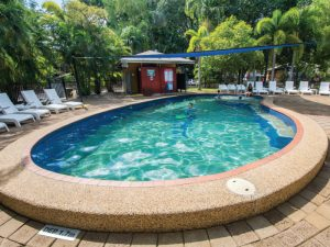 affordable - pool - pandanus - lodge | Hidden Valley Holiday Park